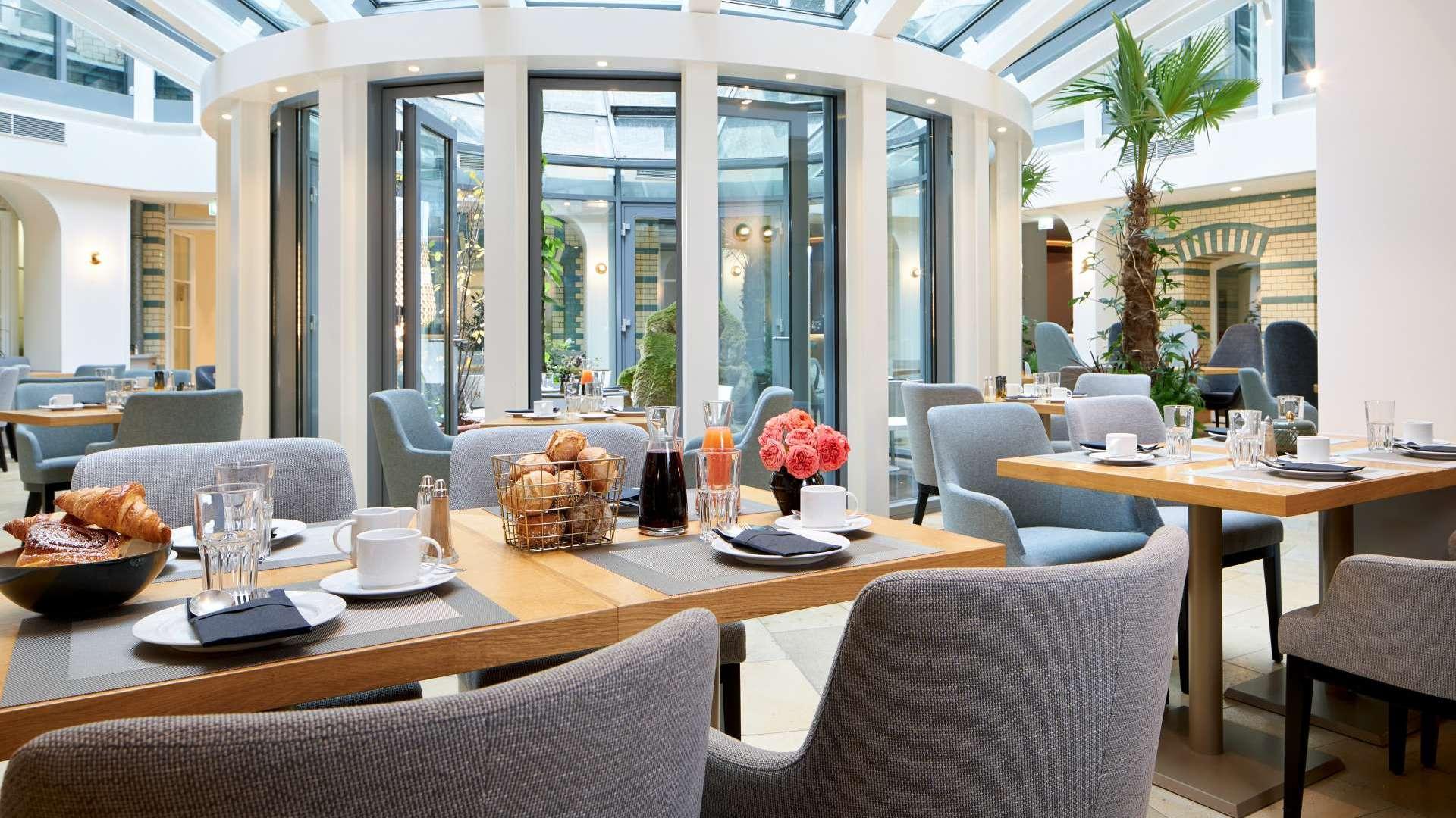 Classik Hotel Alexander Plaza Berlin Frühstücksraum