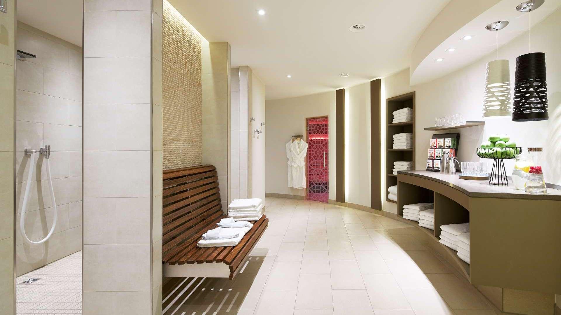 Classik Hotel Alexander Plaza Sauna und Wellnessbereich