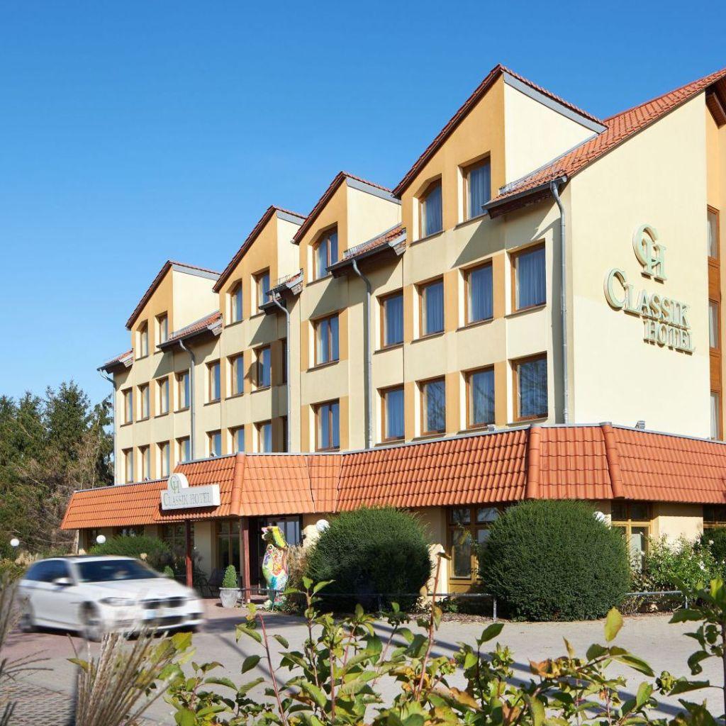 Aussenansicht Classik Hotel Magdeburg
