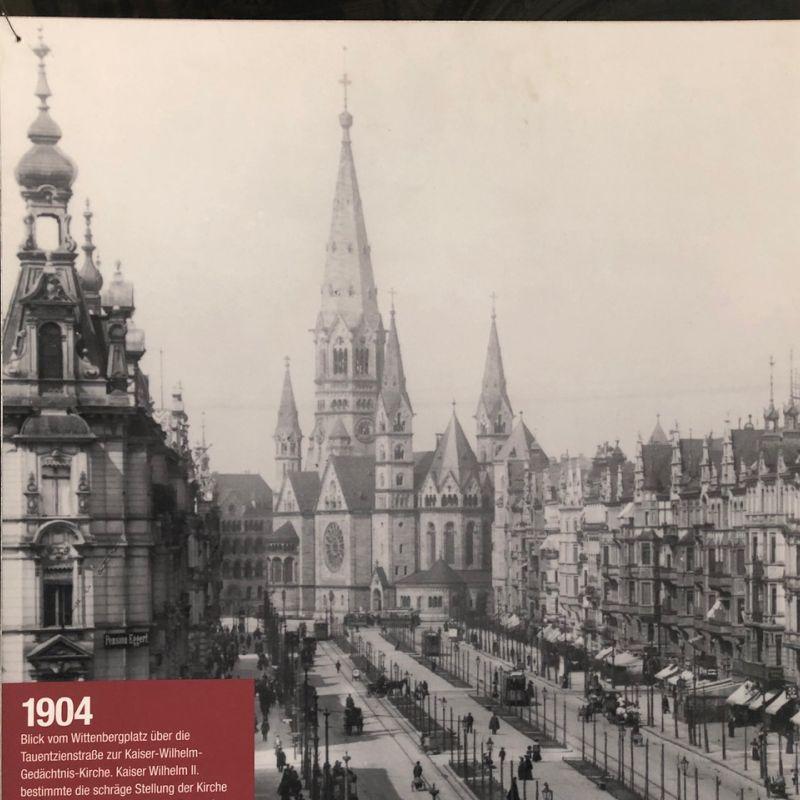Classik Hotel Collection Historische Ansicht der Gedächtniskirche