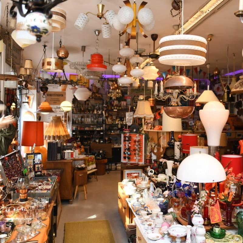 Classik Hotel Collection VEB Orange Second Hand Laden von innen
